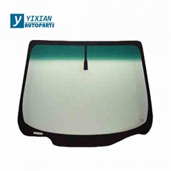 FONT LAMINATED GLASS AND REAR TEMPERED GLASS