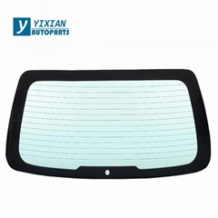 AUTO REAR WINDSHIELD TEMPERED GLASS