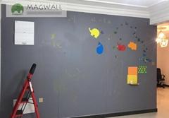 磁善家流暢擦寫不傷牆創意靜灰色磁性黑板