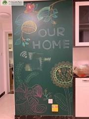 磁善家教学居家多用可书写易安装磁性软绿板