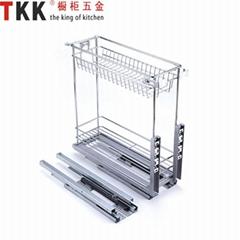 Kitchen Storage  Cabinet Organizer Pull Out Basket