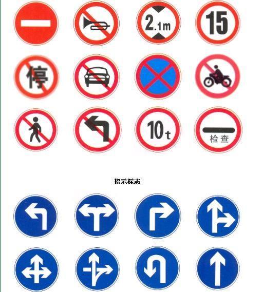 江門停車場指示牌交通標誌牌道路安全標牌 1