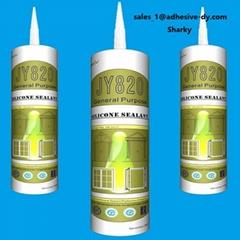 General purpose acetic silicone sealant