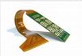 4 layers double face flex-rigid PCB