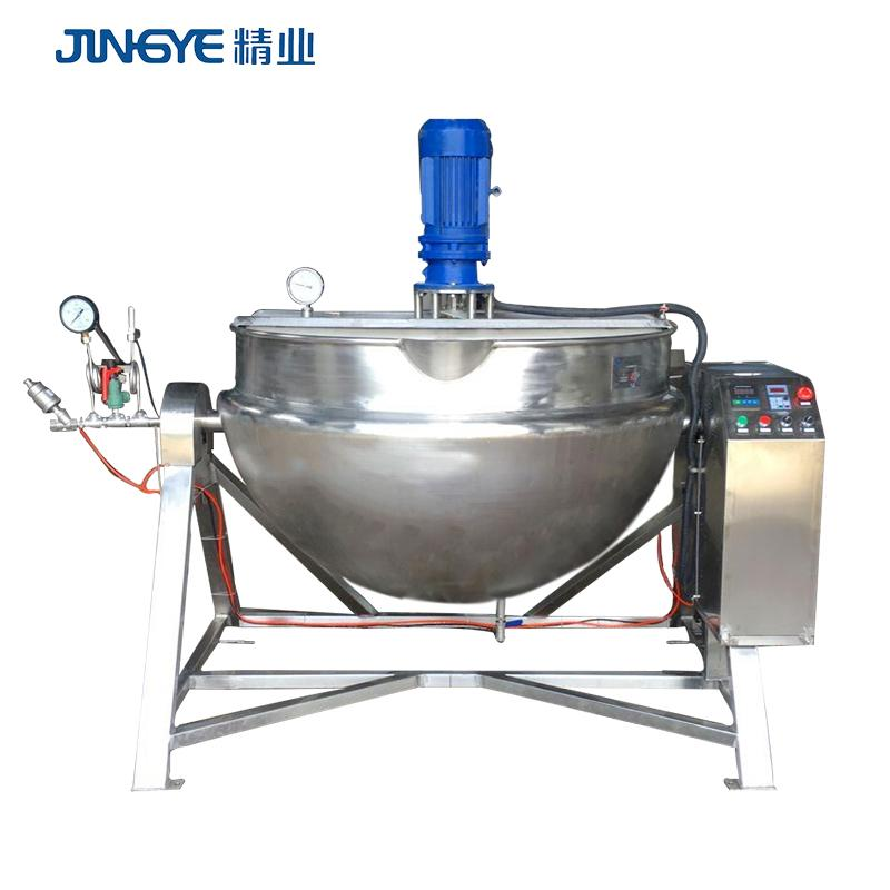 pepper paste 2019 Hot Sale 60 Gallon direct Steam Jacketed Kettle Mixer Machine 1