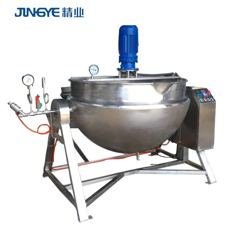 pepper paste 2019 Hot Sale 60 Gallon direct Steam Jacketed Kettle Mixer Machine 3