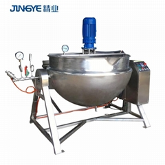 100 liter Steam Powder Cooking Double Jacketed Kettle