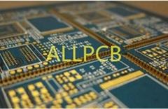 Half PTH hole circuit hole circuit PCB