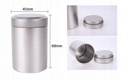 Round Tea Tin