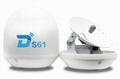 Ditel S61 63cm 3-axis ku band digital outdoor tv marine satellite antenna 1