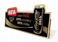 Electronic paper displays Coca Cola