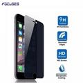 Focuses 9H 2.5D 180 Degree Privacy Anti Spy Anti Glare Tempered Glass Screen