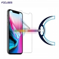 Focuses Premium Anti Blue Light Tempered Glass Screen Protector for iPhone X
