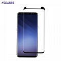 Focuses Premium Note 8 Case Friendly 3D Full Covered Tempered Glass Screen Prote
