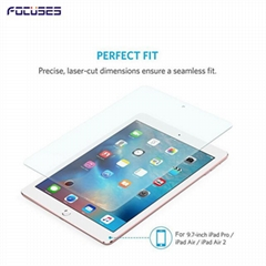 Focuses 9H Premium Tempered Glass Screen Protector for iPad 3 4 5 6 9.7