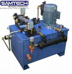 山東森特克廠家訂做液壓泵站