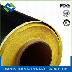 High temperature PTFE coated fiberglass adhesive tape