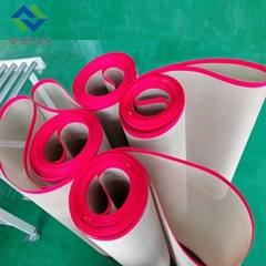 PTFE fiberglass mesh conveyor belt 1mm thick
