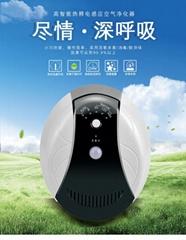 厂家批发负离子智能空气净化器新款除烟加湿家用