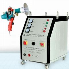 zinc coating arc spray machine, arc spray equipment with arc spray gun