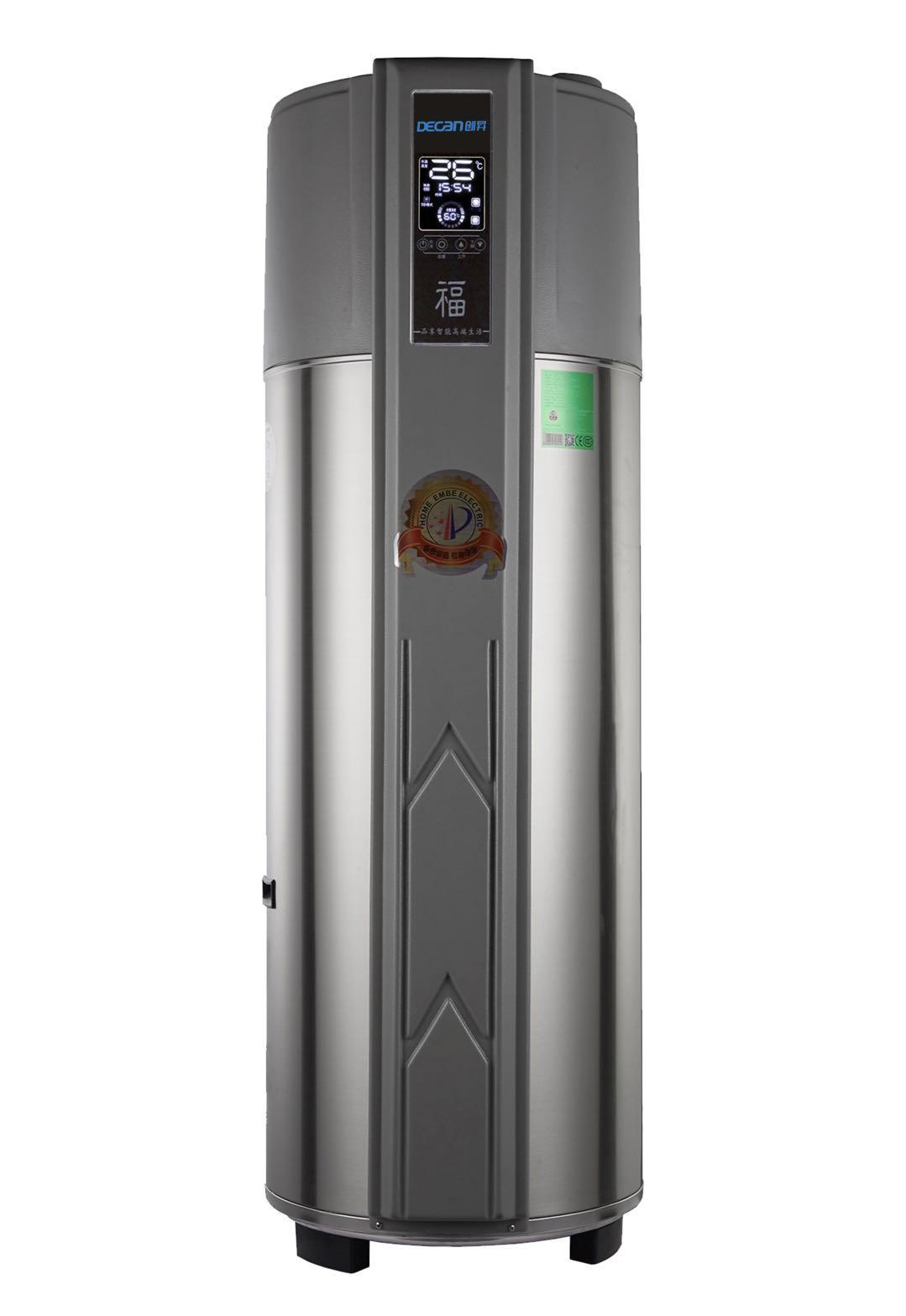 圆形家用一体机空气能热水器 1