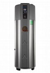 圆形家用一体机空气能热水器