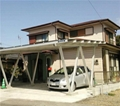 Cheap Newest design solar carpark mounting systems aluminum solar carport system