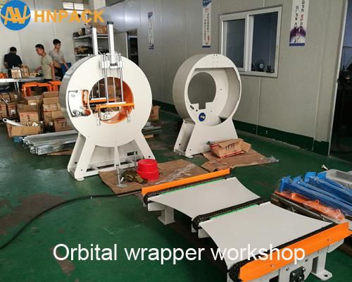 fully automatic high speed door horizontal wrapping machine supplier 3