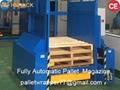 exported plastic or wooden empty pallet