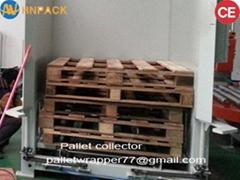 Heavy Duty empty pallet Magazine dispenser for palletizing system pallet dispens