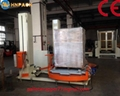 ifully automatic pallet turntable stretch wrap machine for film wrapping 4