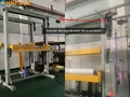 Fully Automatic on line pallet top foil