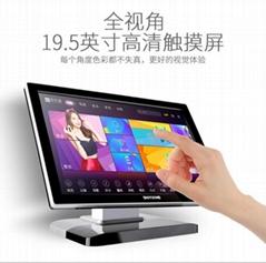 视艺星M1嵌入式高清安卓双系统点歌机