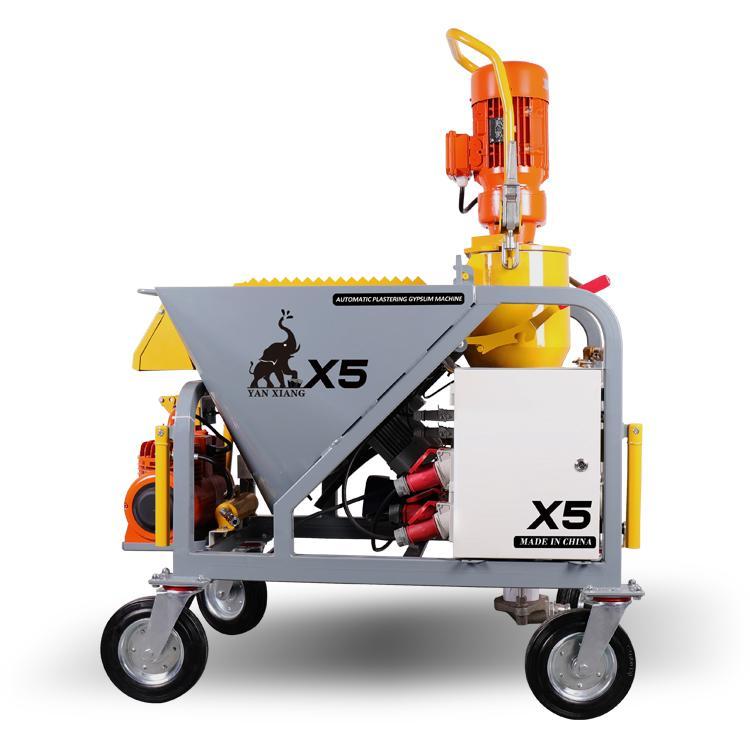 Hot-sale automatic plaster spraying machine    1