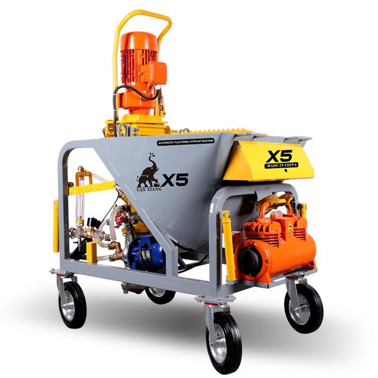 Hot-sale automatic plaster spraying machine    2