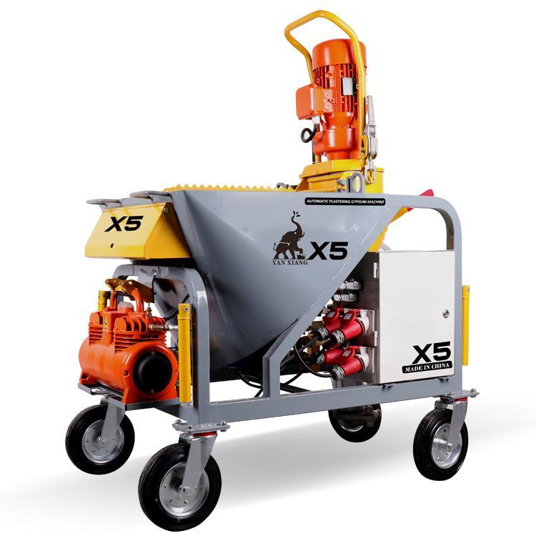 Hot-sale automatic plaster spraying machine    4