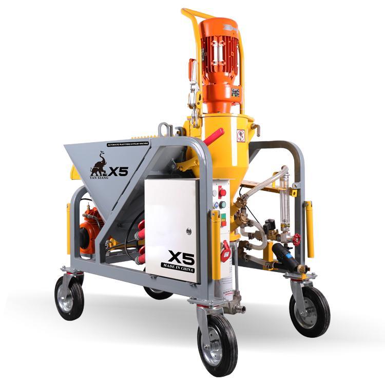 Hot-sale automatic plaster spraying machine    5