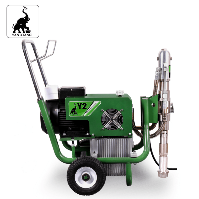 Y2 Electric Hydraulic Airless Paint Sprayers,High Pressure Airless Putty Sprayer 2