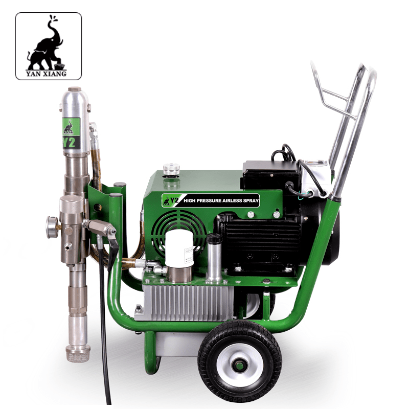 Y2 Electric Hydraulic Airless Paint Sprayers,High Pressure Airless Putty Sprayer 5