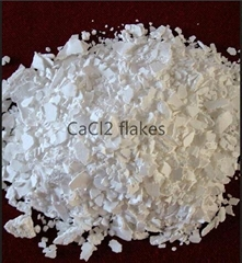 Calcium Chloride Dihydrate Flakes 74%-77%