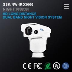 高清远距离双波段夜视系统