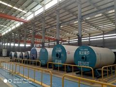 山西天蘭WNS1-1.0-Y/Q燃油燃氣蒸汽鍋爐