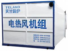 山西天兰KJD系列煤矿专用电加热热风机组