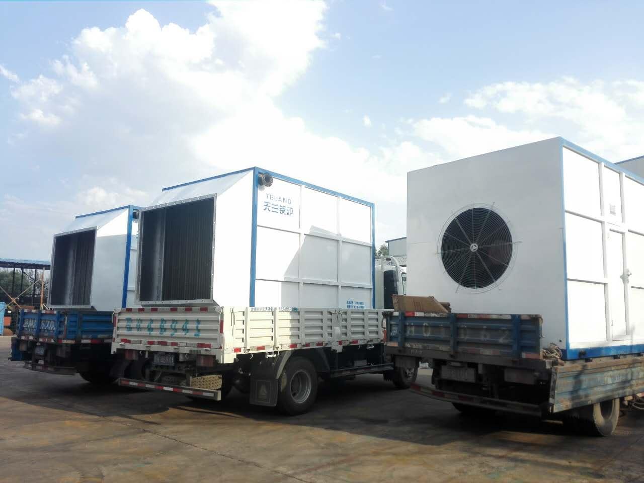 山西天兰KJD系列煤矿专用电加热热风机组 3