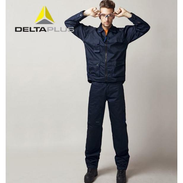 代爾塔全棉防靜電工作服405168 透氣勞保套裝 1