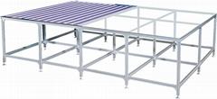 Rolling blinds worktable working desk Operating platform(Aluminum profile)