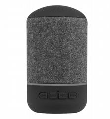 fabric mini bluetooth speaker with fm radio function