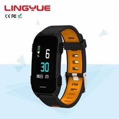 High Quality Wholesale the best smart bracelet sublimation watch band step wrist