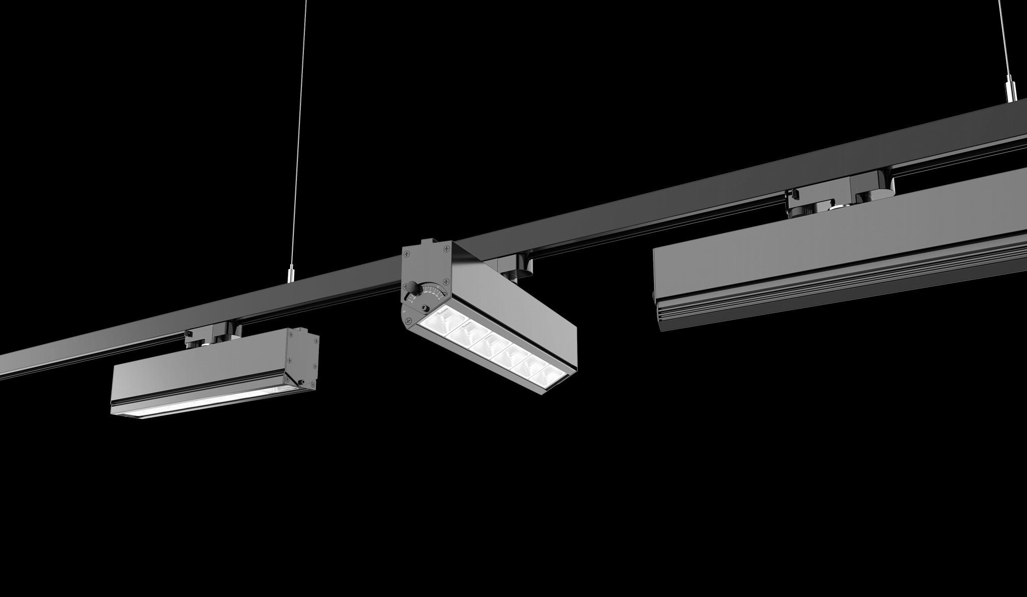Bricks Rotatable 350 Series Linear LED Track Light Motion Sensor 5years warranty 1