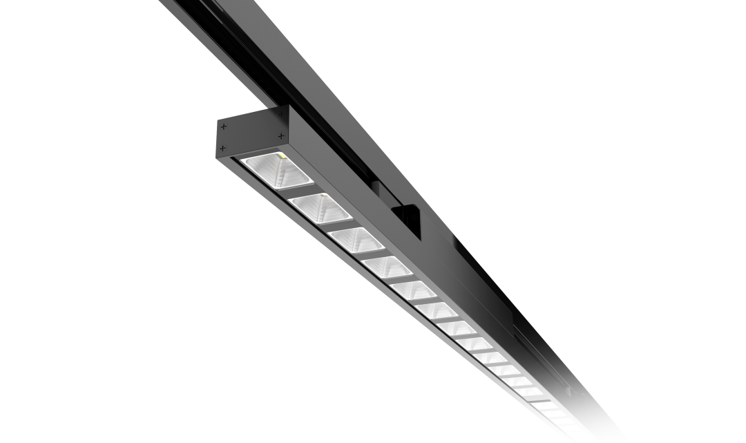 Type A with reflecter Linear LED Track Light 40w/60w led track light 130lm/w 1